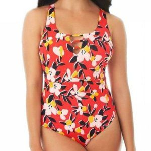 Beach Betty Strappy Ladder Front One Piece Swimsui